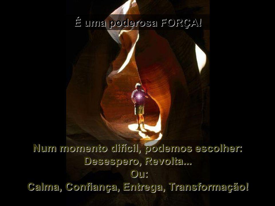 Em nós, na capacidade de Amar, de Compreender, de Escolher...