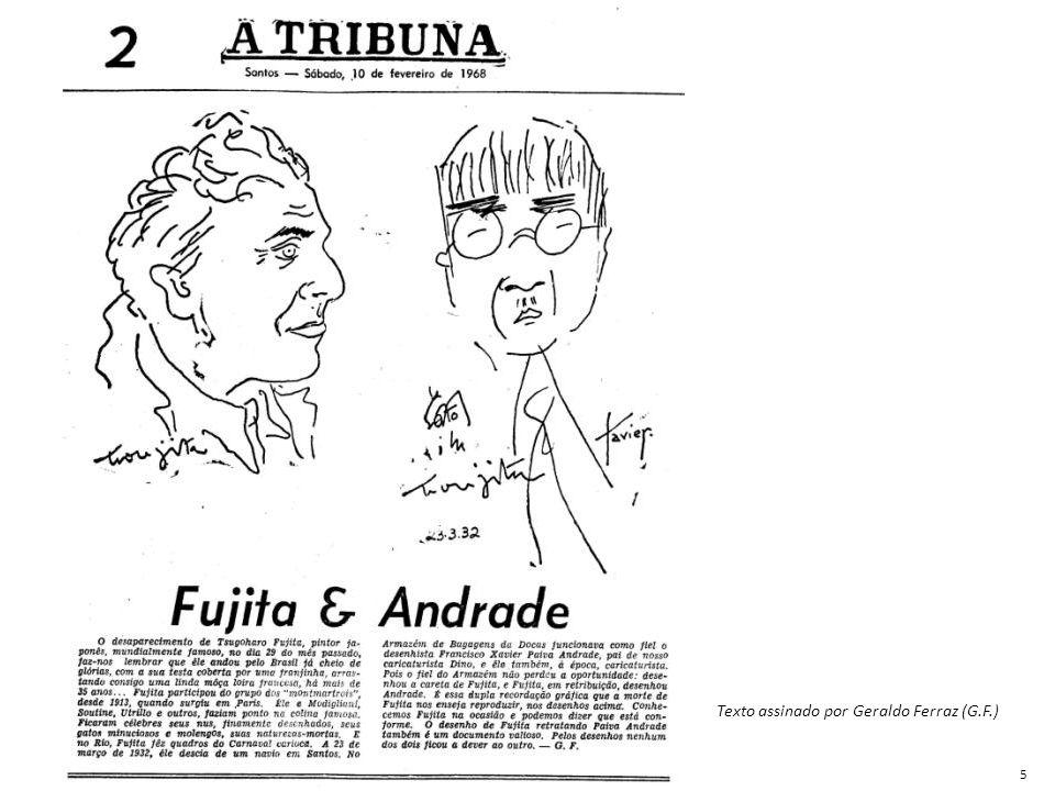 Texto assinado por Geraldo Ferraz (G.F.) 5