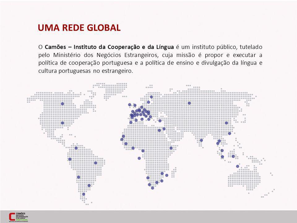 O Camões – Instituto da Cooperação e da Língua é um instituto público, tutelado pelo Ministério dos Negócios Estrangeiros, cuja missão é propor e executar a política de cooperação portuguesa e a política de ensino e divulgação da língua e cultura portuguesas no estrangeiro.