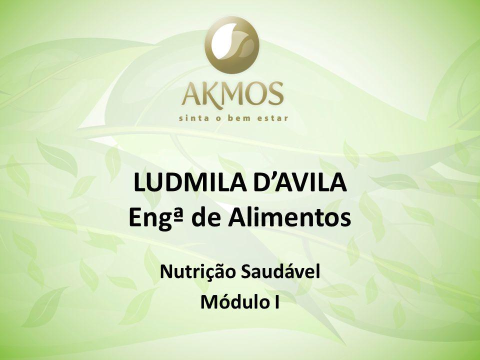 LUDMILA DAVILA Engª de Alimentos Nutrição Saudável Módulo I