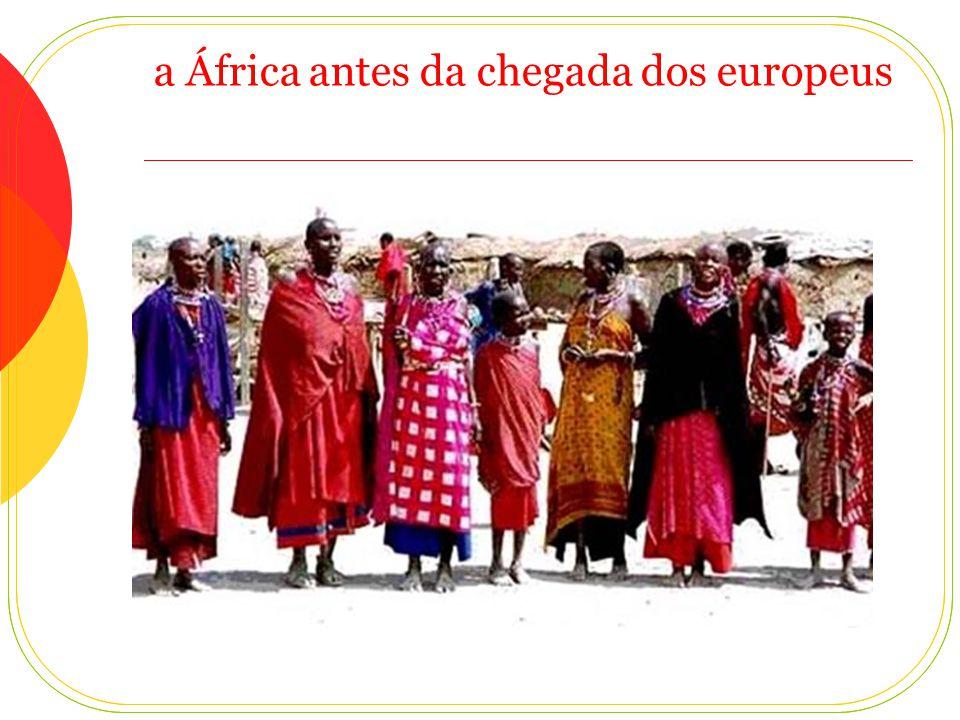 a África antes da chegada dos europeus