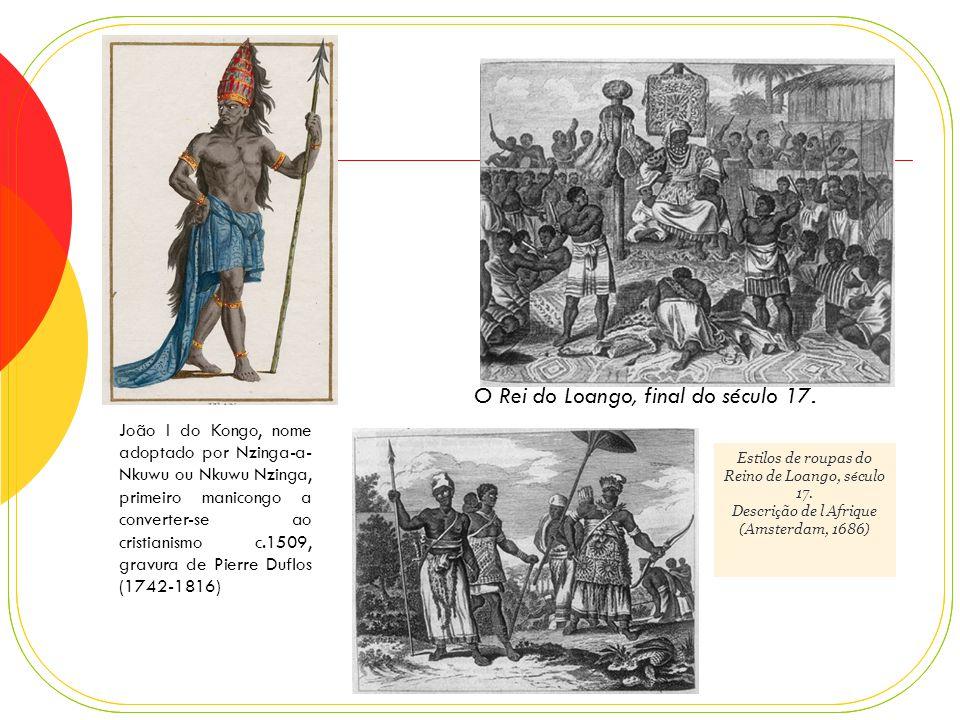 Congo - um reino próspero Século XIV – fundação do reino Política – centralizada.