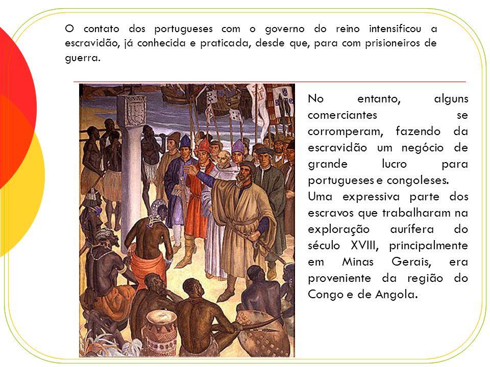 O Rei do Loango, final do século 17.Estilos de roupas do Reino de Loango, s é culo 17.