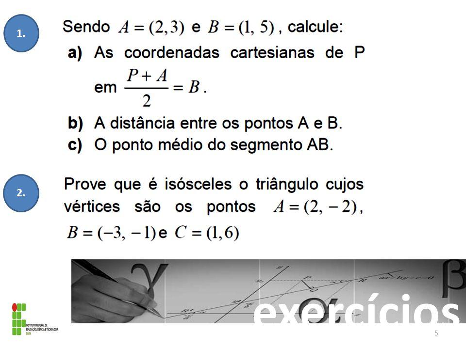 exercícios 1. 2. 5