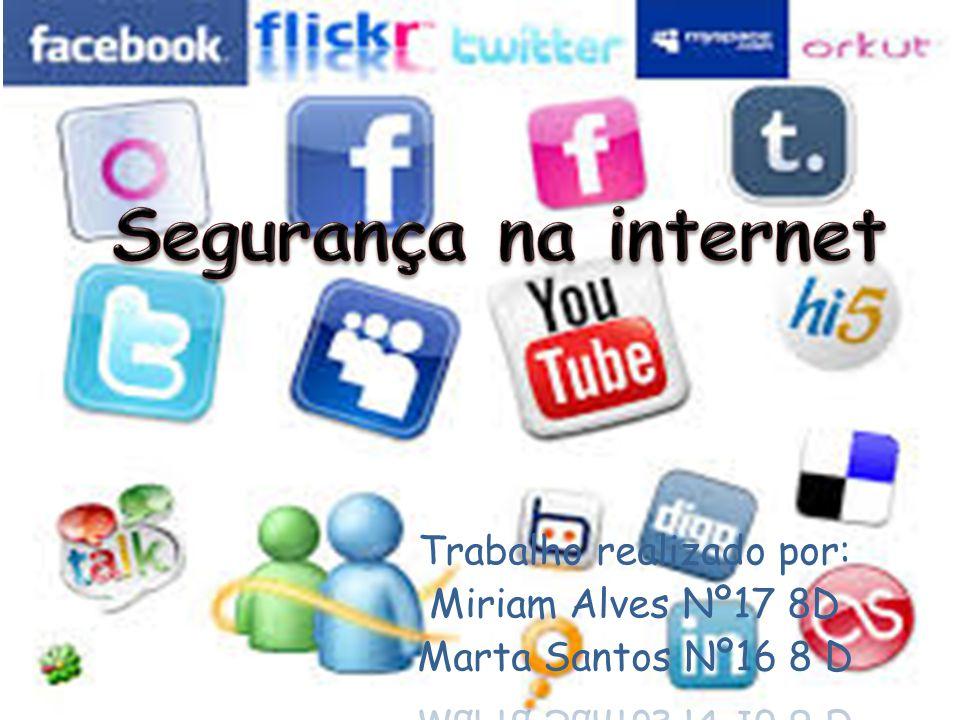 Cuidados a ter nas redes sociais Não devemos fornecer dados pessoais.