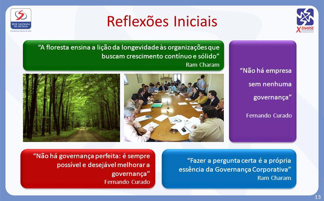 Não há empresa sem nenhuma governança Fernando Curado Não há empresa sem nenhuma governança Fernando Curado Não há governança perfeita: é sempre possí