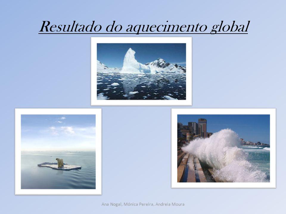Resultado do aquecimento global Ana Nogal, Mónica Pereira, Andreia Moura
