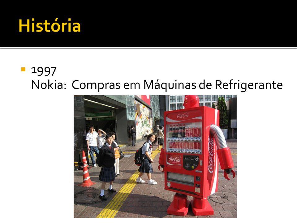 1997 Nokia: Compras em Máquinas de Refrigerante