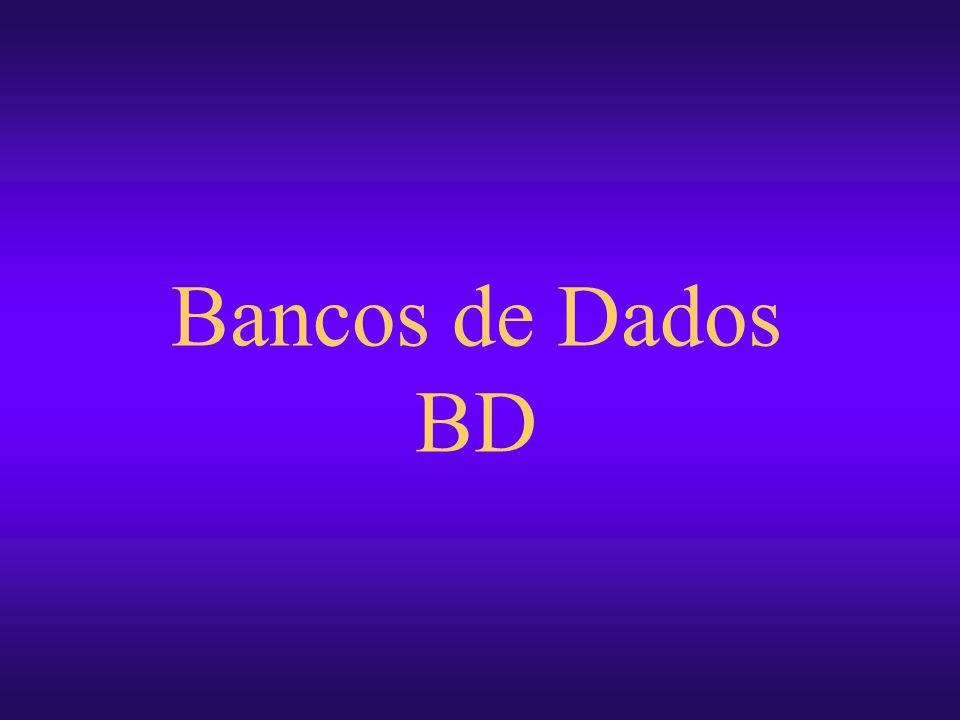 Bancos de Dados e Recuperação de informação13 Cronograma de Evolução dos BD 708090 Sistemas de Arquivos SGBDs tradicionais Redes Hierárquico SGBDs relacionais SQL SGBDs OO/OR SQL3