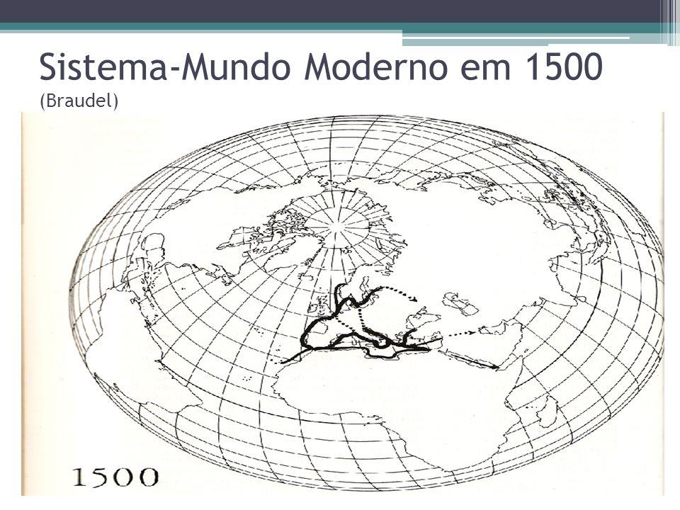 Sistema-Mundo Moderno em 1775 (Braudel)