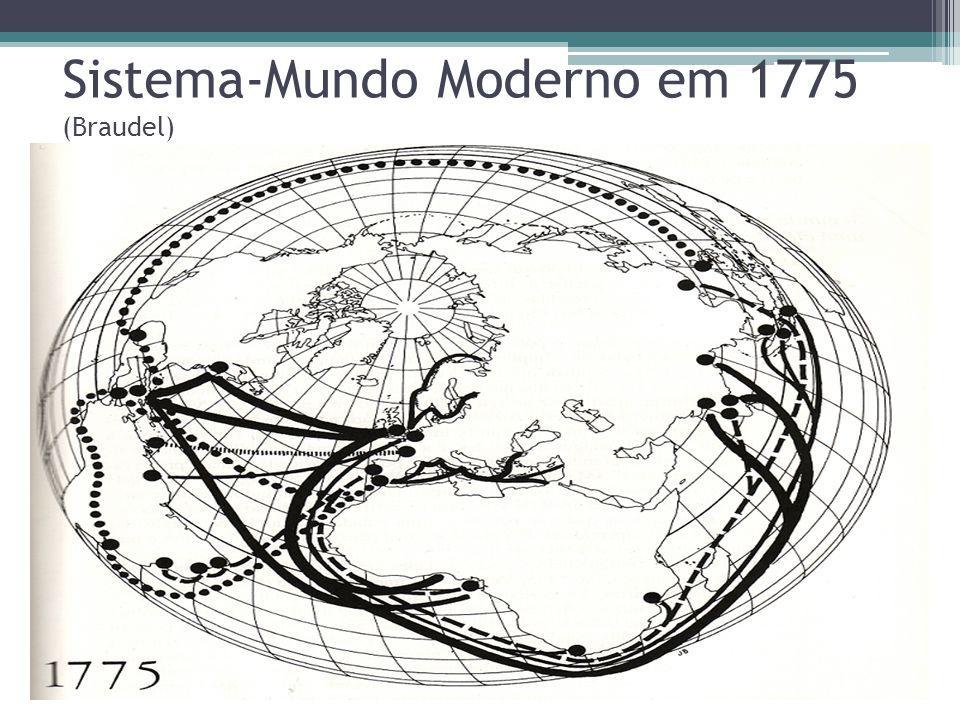 Hegemonias mundiais Portanto, a aliança ESTADO x EMPRESA surge em fins da Idade Média.