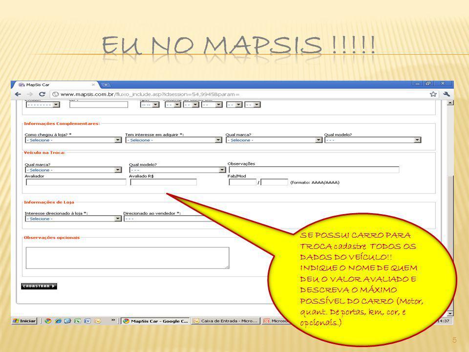 6 No primeiro cadastro o Status ficará como pendente, NO DIA SEGUINTE após a conclusão de todo o registro, você poderá alterar conforme o andamento de seu contato com o cliente!!!