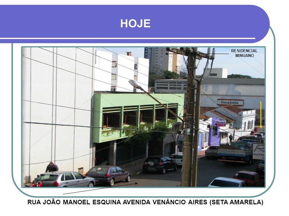 TELHADOS DE ALGODÃO RUA JOÃO MANOEL EM FRENTE, NA SETA VERMELHA E CASAS DA AVENIDA VENÂNCIO AIRES NAS SETAS PRETAS