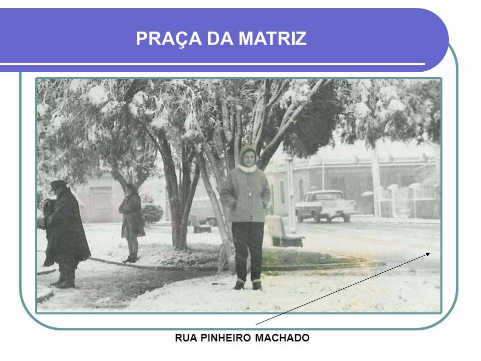 HOJE - PRAÇA ERICO VERISSIMO MONUMENTO À CARLOS GOMES FOI INAUGURADO EM 1939