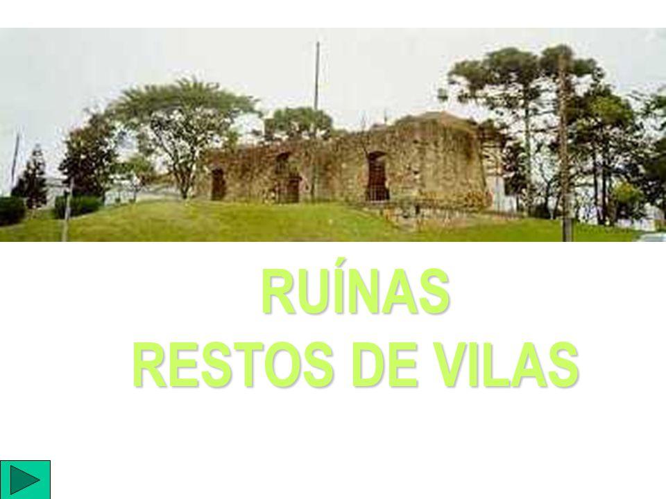 RUÍNAS RESTOS DE VILAS