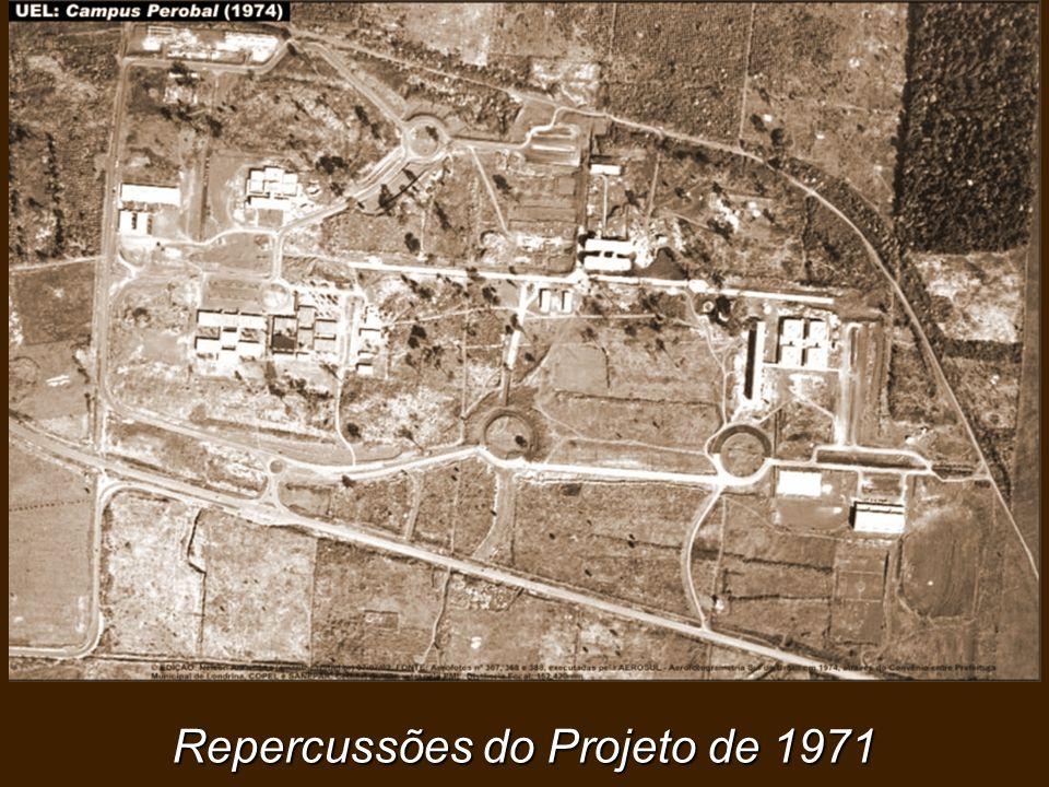 Repercussões do Projeto de 1971