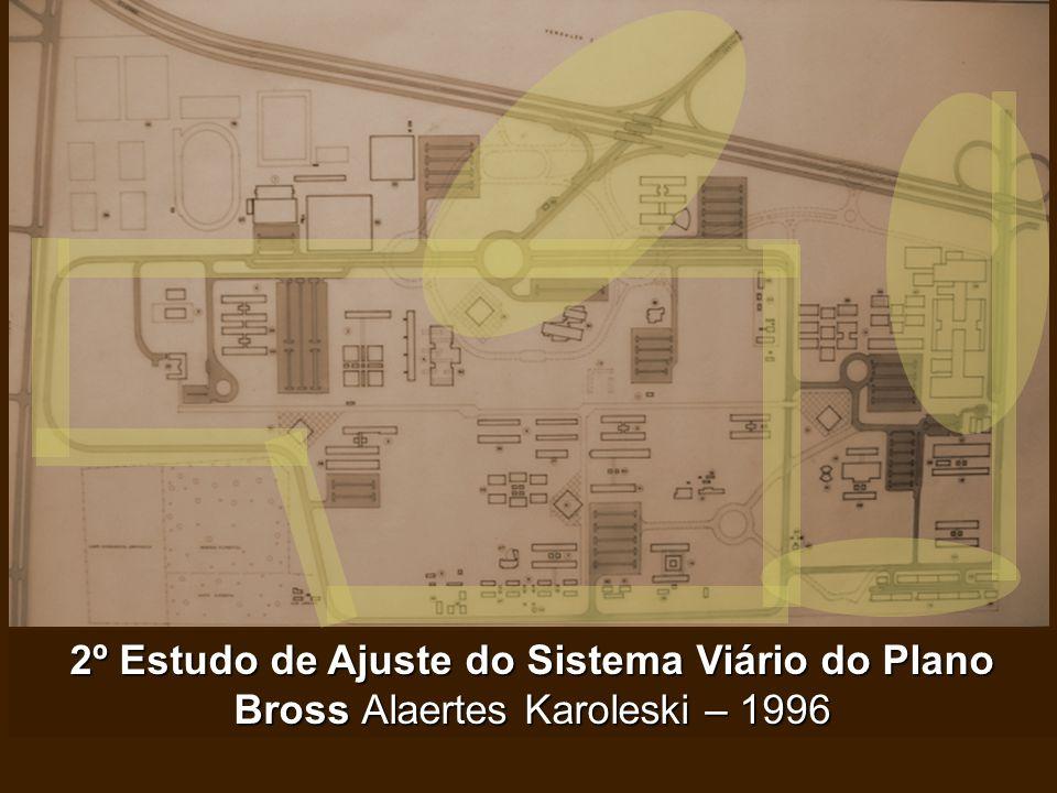2º Estudo de Ajuste do Sistema Viário do Plano Bross Alaertes Karoleski – 1996 Acesso Exclusivo pela Castelo BrancoHospital de Clínicas: Confinamento
