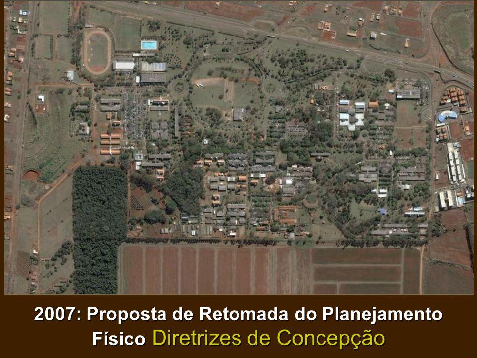 2007: Proposta de Retomada do Planejamento Físico Diretrizes de Concepção