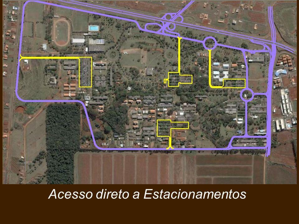 Vias Estruturais Perimetrais Acesso direto a Estacionamentos