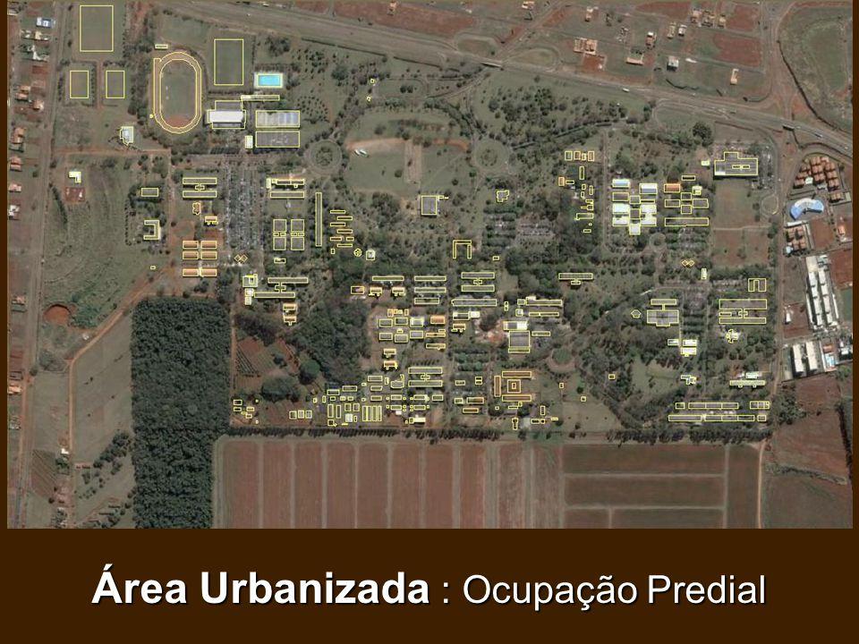 Área Urbanizada : Ocupação Predial
