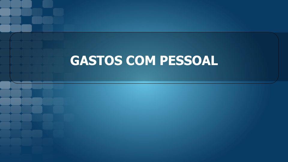 GASTOS COM PESSOAL