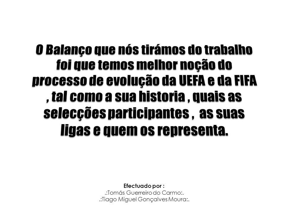 Efectuado por :.:Tomás Guerreiro do Carmo:..:Tiago Miguel Gonçalves Moura:.