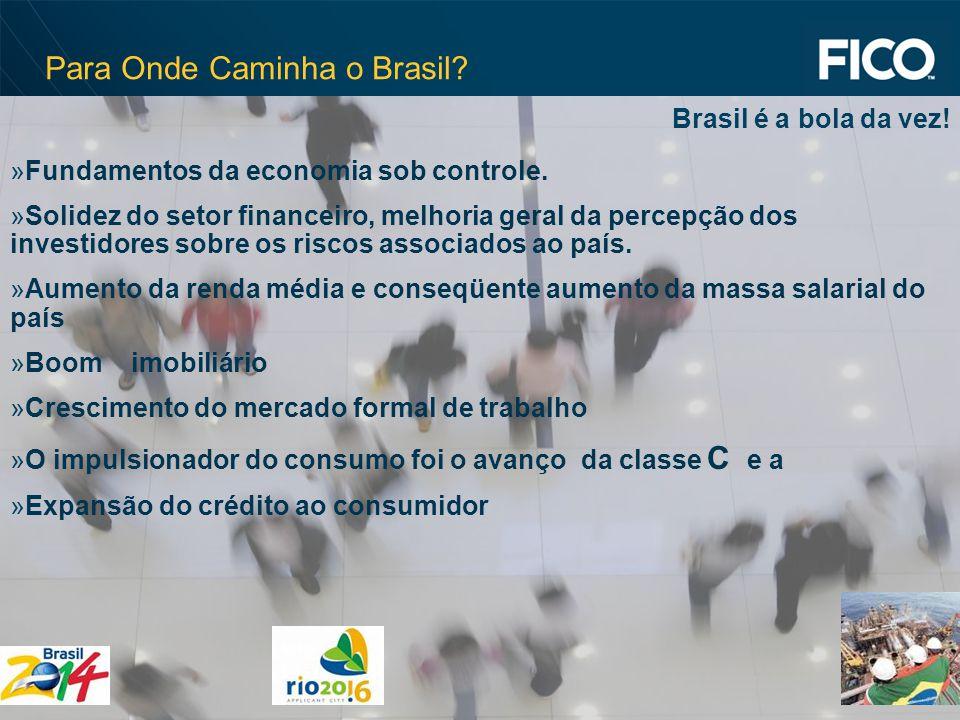 © 2009 Fair Isaac Corporation.Confidential. 2 Para Onde Caminha o Brasil.