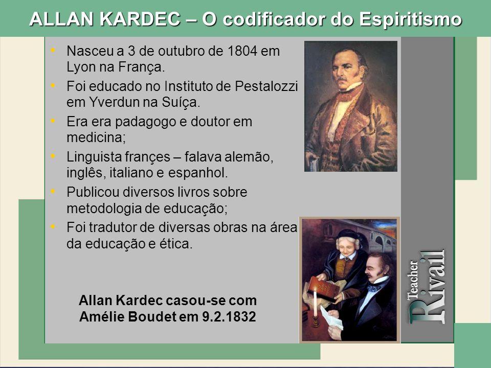 Nasceu a 3 de outubro de 1804 em Lyon na França. Foi educado no Instituto de Pestalozzi em Yverdun na Suíça. Era era padagogo e doutor em medicina; Li