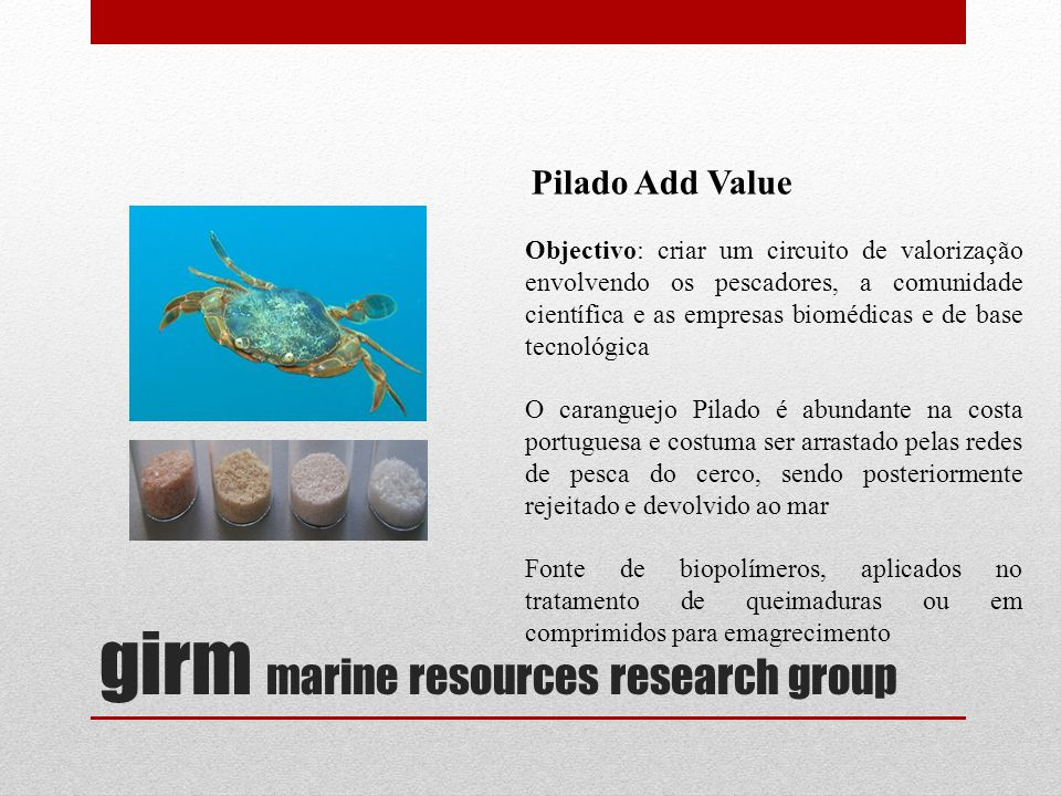 girm marine resources research group