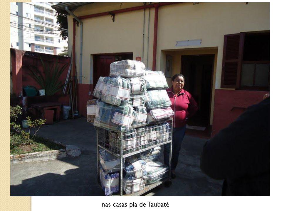 nas casas pia de Taubaté