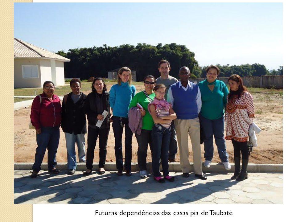Futuras dependências das casas pia de Taubaté