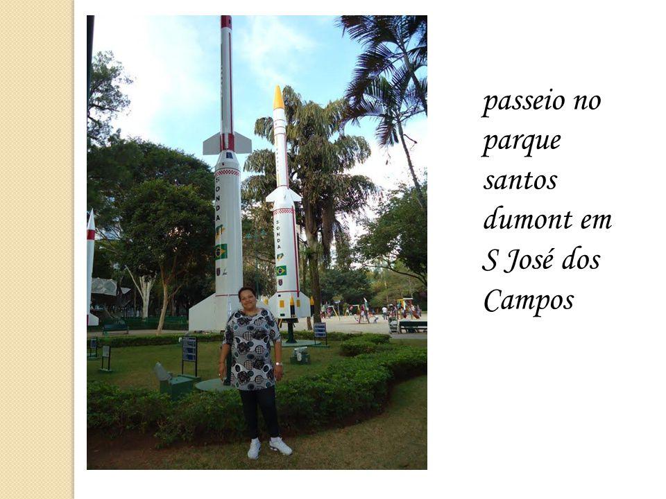 passeio no parque santos dumont em S José dos Campos