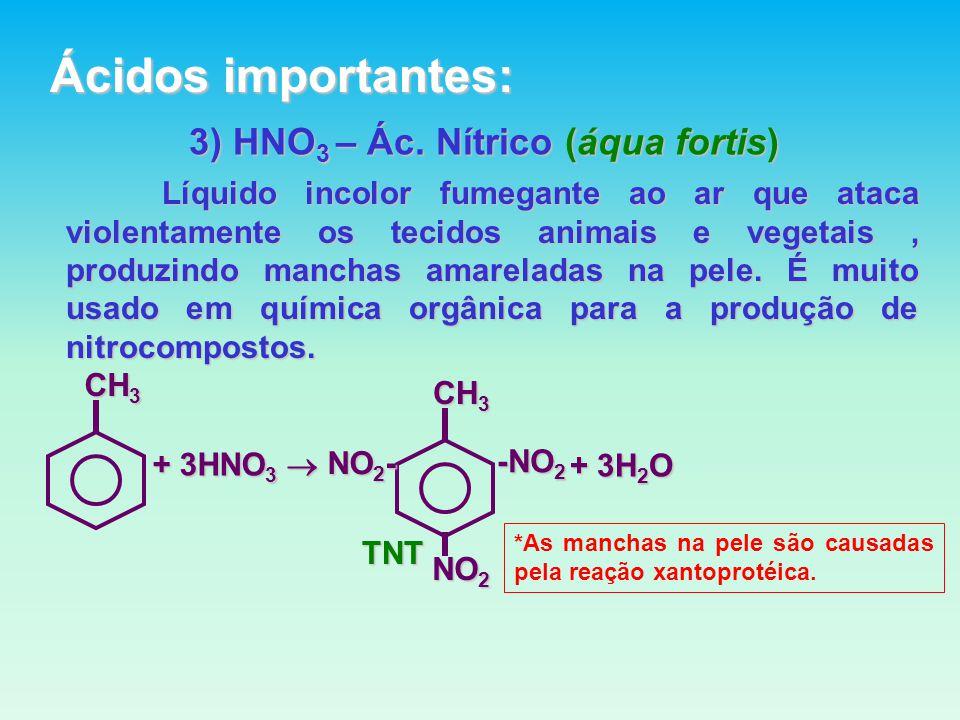 3) HNO 3 – Ác.