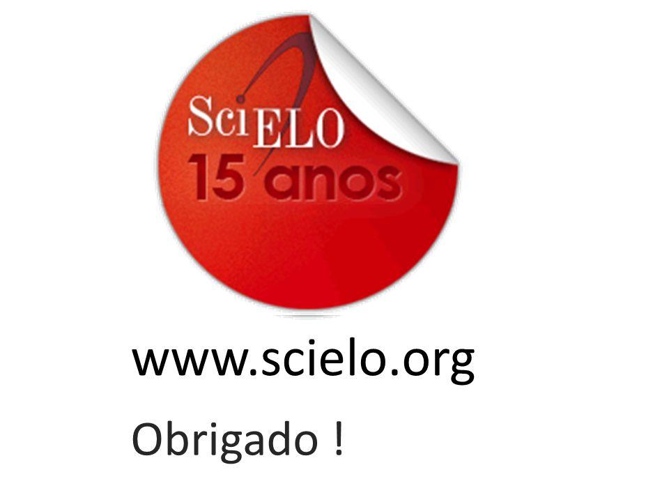 www.scielo.org Obrigado !
