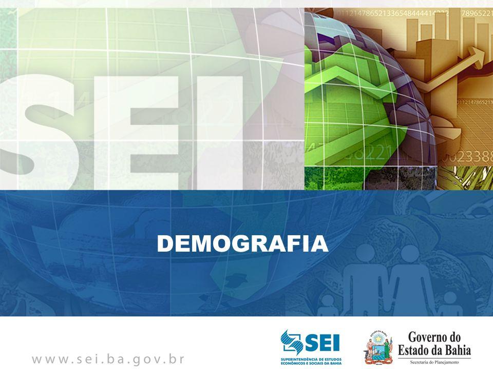 PIB TRIMESTRAL Bahia – 4º Trimestre de 2009 Bahia – 4º Trimestre de 2009 DEMOGRAFIA