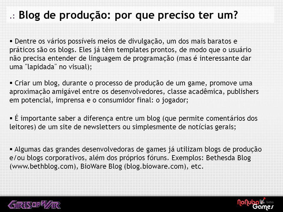 .: A importância do contato com a comunidade gamer Saia do armário (no bom sentido): suas dúvidas também podem ser as dúvidas de outras pessoas.