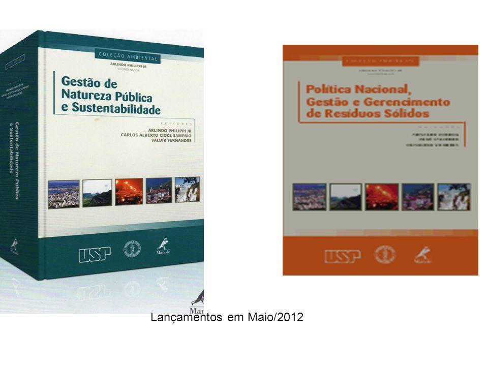 Lançamentos em Maio/2012
