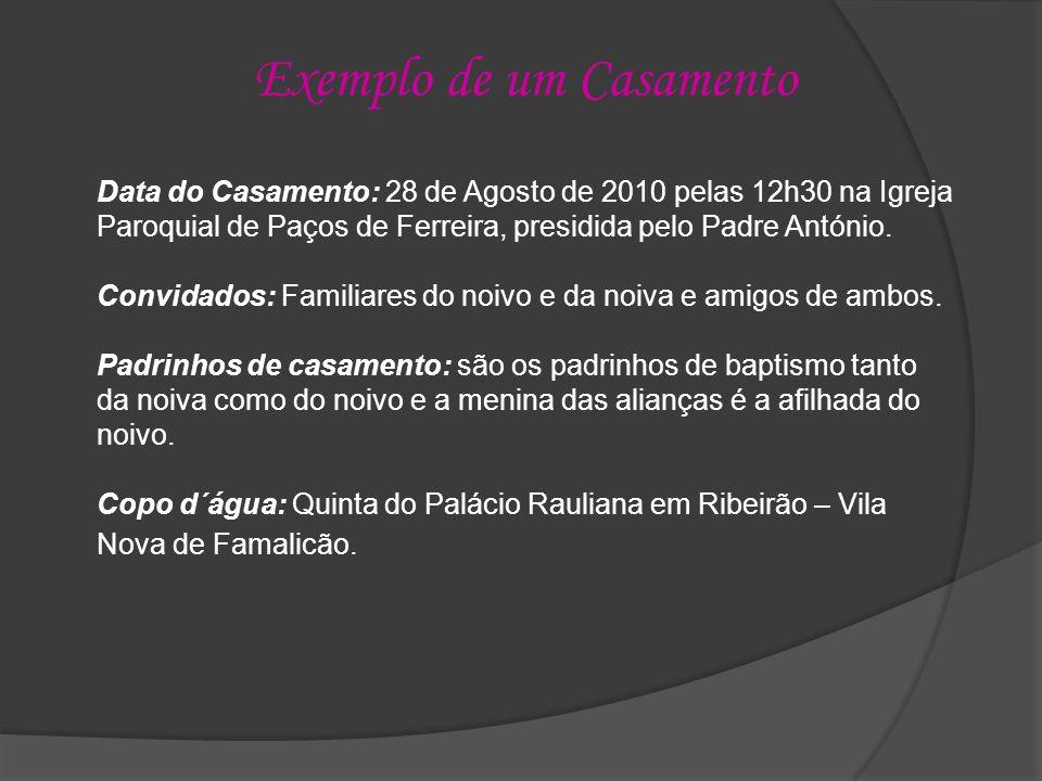 Florista: A florista que irá acear a Igreja e fazer o bouquet da noiva será a Dª Conceição – Carvalhosa.