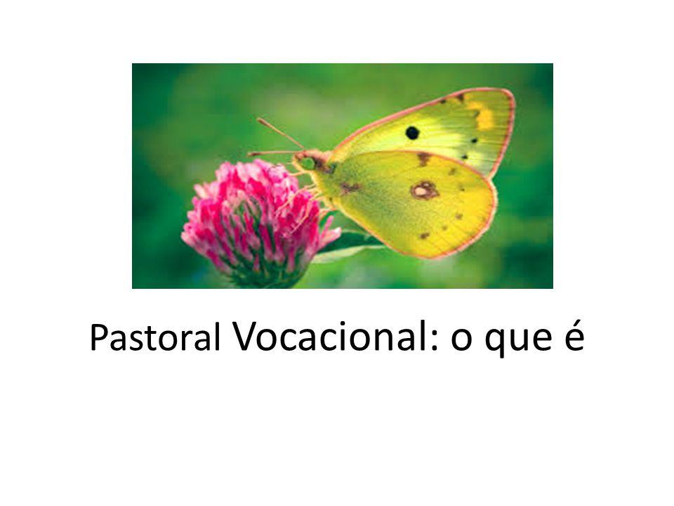 Antes do Concilio Vaticano II, a Pastoral Vocacional era caracterizada pelas Obras das Vocações Sacerdotais, que tinha como objetivo rezar pelas vocações.