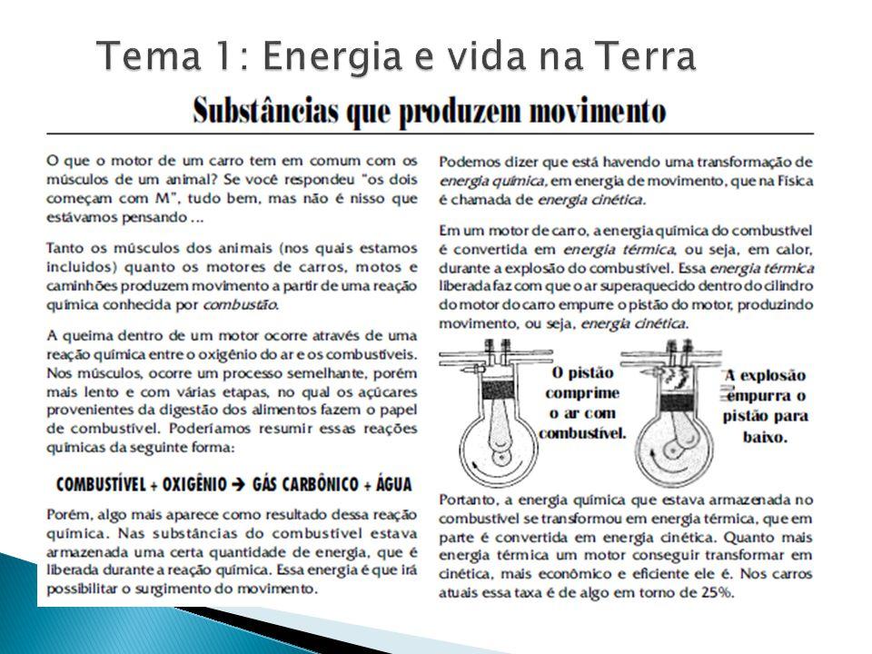 Qualquer tipo de energia pode ser definida, de uma forma bem objetiva, pela capacidade que tem de realizar trabalho.