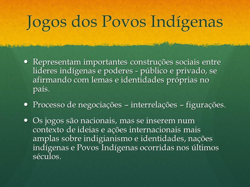 Construções Sociais Sociedade dos Indivíduos Protagonistas indígenas – história de vida, sonhos, formação de líderes na cultura ancestral, oportunidades na sociedade mais ampla.