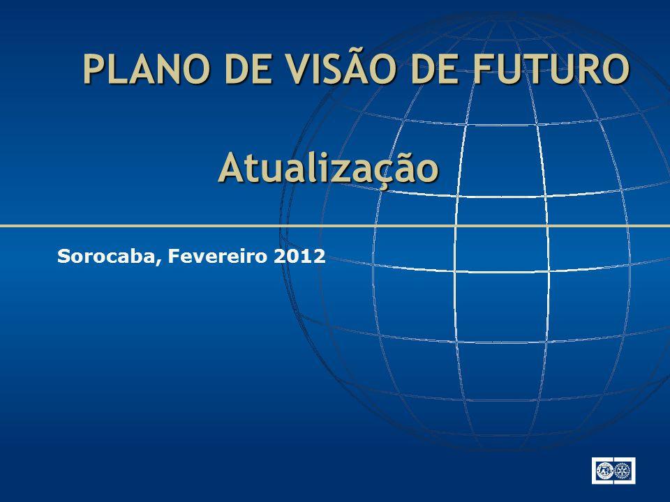 PLANO DE VISÃO DE FUTURO Atualização PLANO DE VISÃO DE FUTURO Atualização Sorocaba, Fevereiro 2012