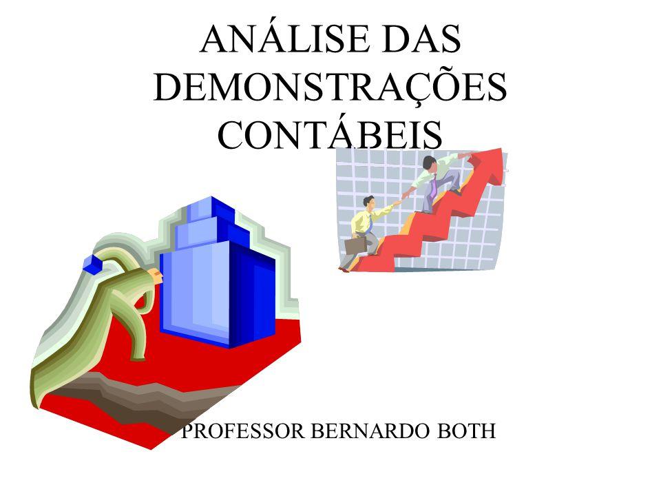 Conteúdo Programático OBJETIVOS: Analisar as Demonstrações Contábeis para fins de interpretação e avaliação das situações financeiras e econômicas.