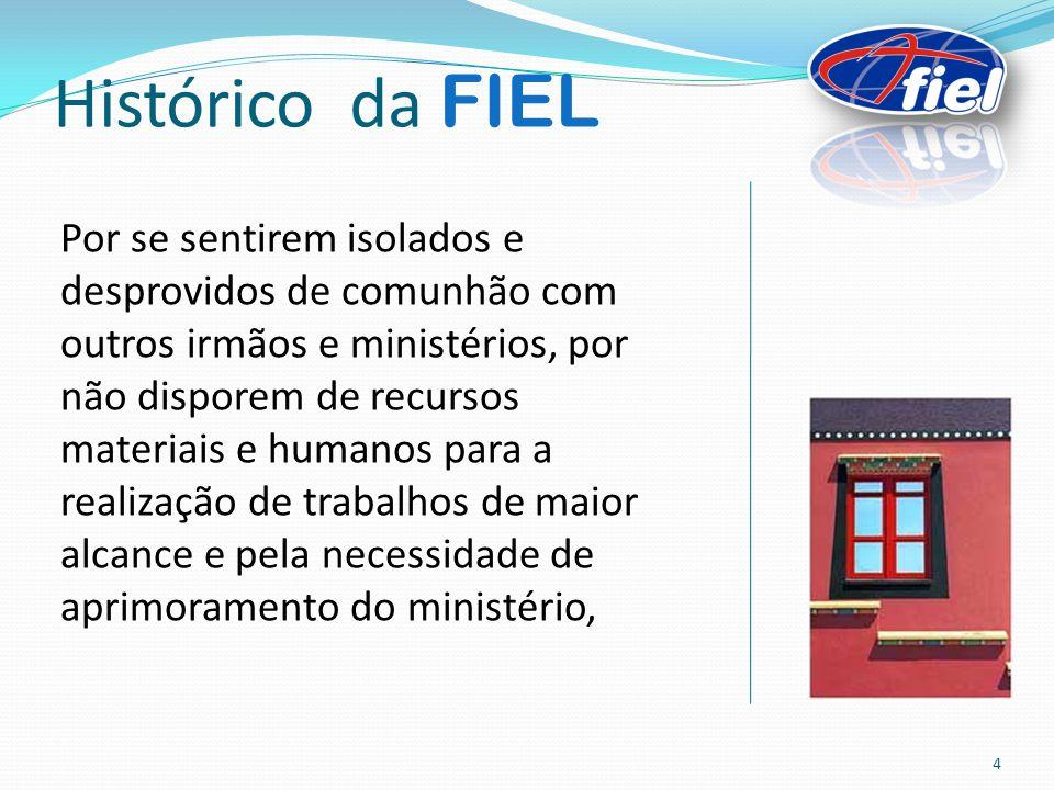 OBREIROS CIC ou CPF/MF; Cédula de Identidade Civil - RG; Comprovante de Ordem Ministerial; Pagamento do Dízimo ou da anuidade, igual ou superior ao valor do salário mínimo vigente no País; Como ser filiado à FIEL 15