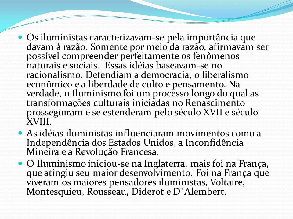 As críticas do movimento ao Antigo Regime eram em vários aspectos como: - Mercantilismo.