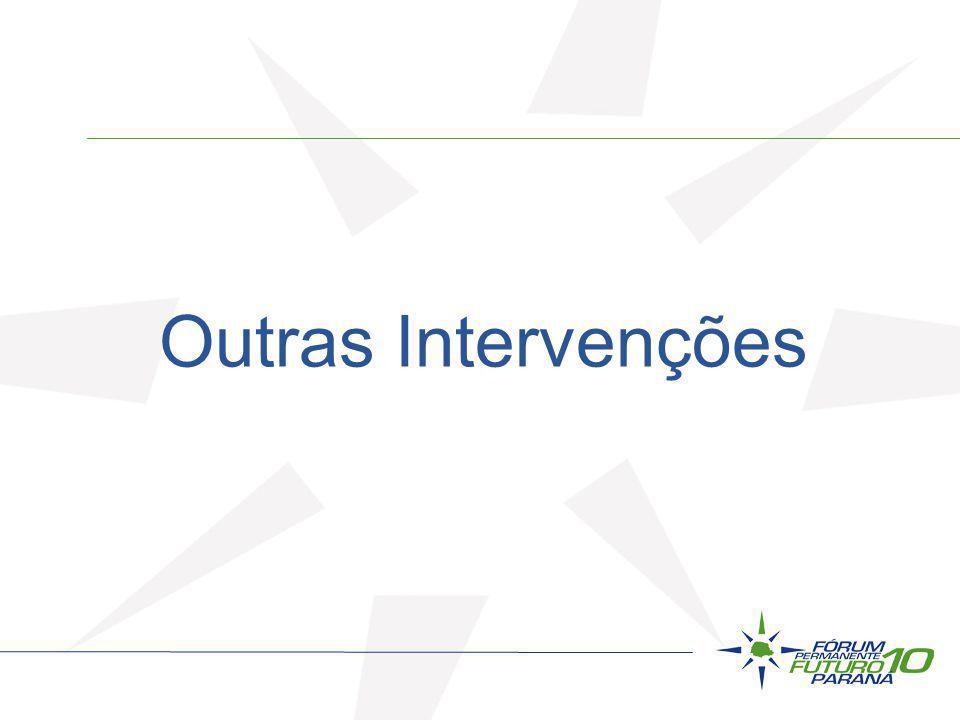 Outras Intervenções