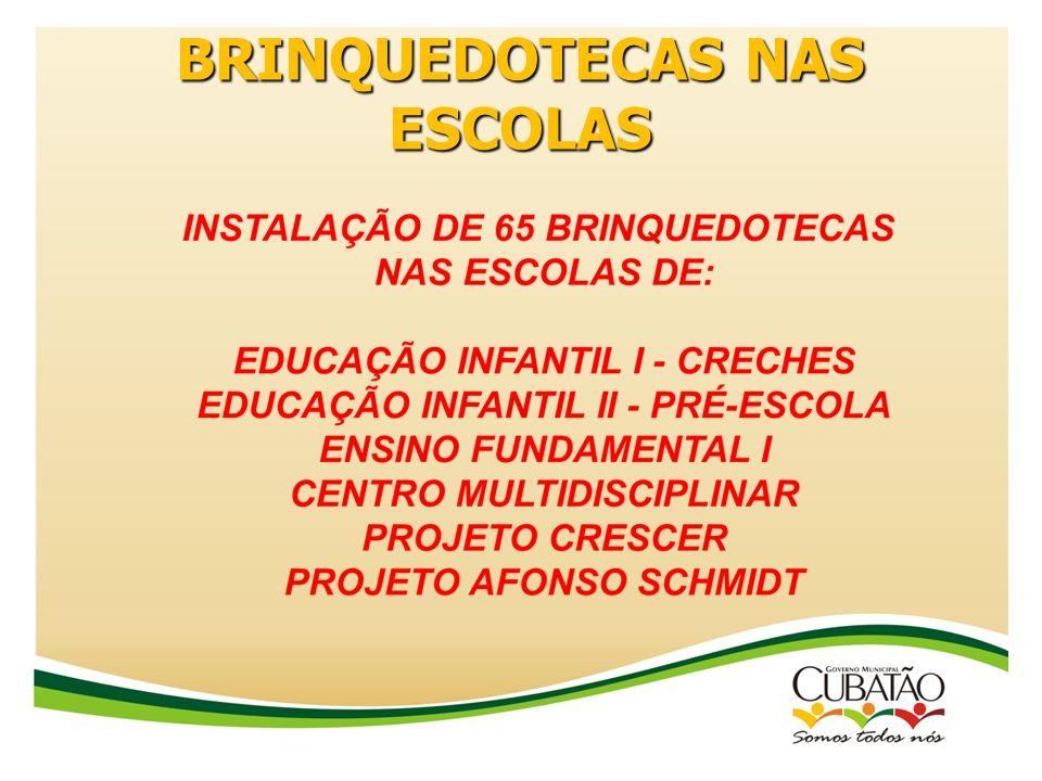 BRINQUEDOTECAS NAS ESCOLAS