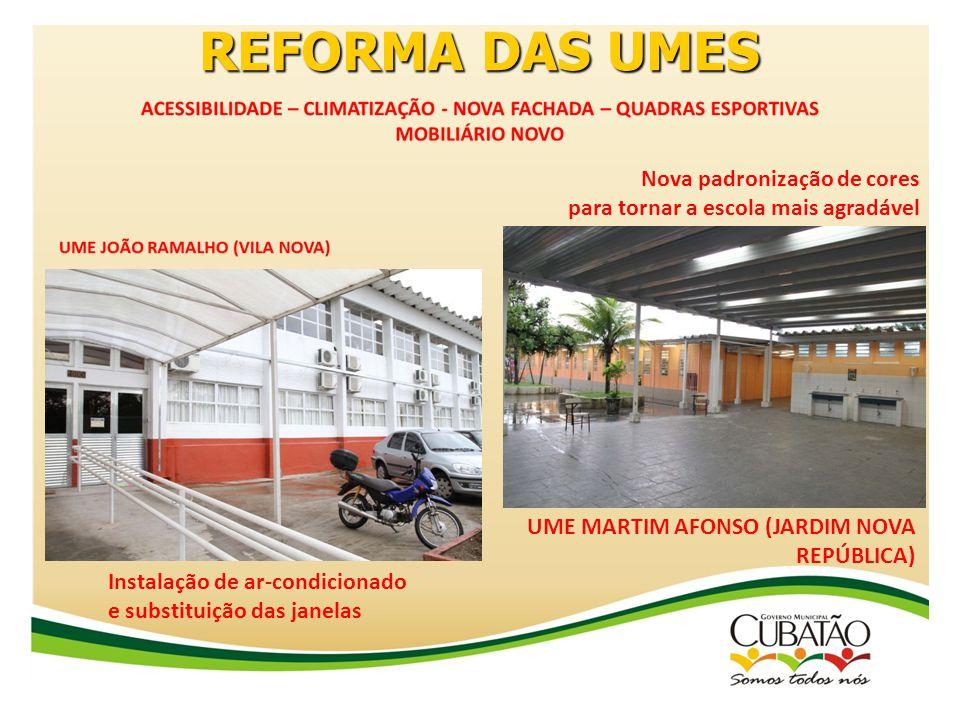 REFORMA DAS UMES UME PE. MANOEL DA NÓBREGA (J. CASQUEIRO)