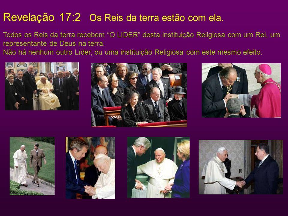 Revelação 17:15 15...As águas que viste, onde a meretriz está sentada, significam povos, e multidões, e nações, e línguas. Tem um alcance mundial (Rev