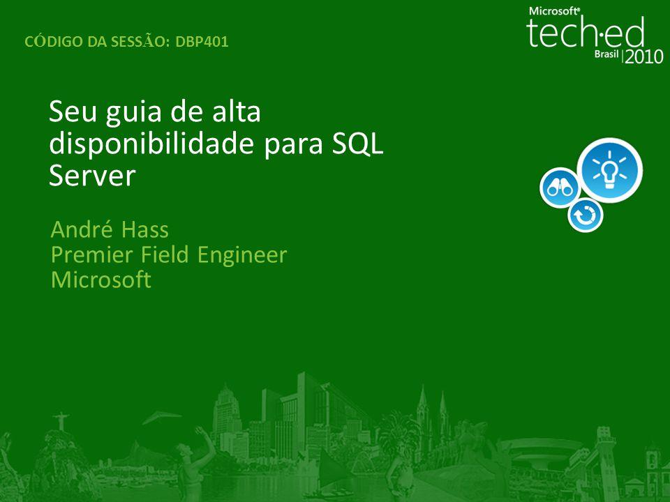 4 Agenda Subtítulo de Agenda SQL Server Failover Clustering O que há de novo no SQL Server 2008/2008R2 SQL Server Database Mirroring SQL SERVER 2008/2008R2 Log Shipping Replicação Ponto a Ponto no SQL Server 2008 Reporting Services Scale Out Deployment